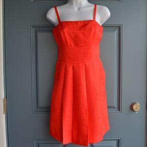Red Spaghetti Strap Dress by Rachel Roy Sz. 0